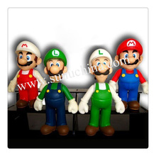 Plastic toy wholesale super mario bros,plastic monster toy,plastic wolf toys