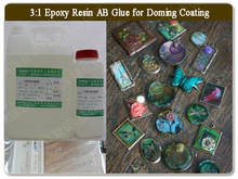 Clear Doming Epoxy Resin for 3D Stickers