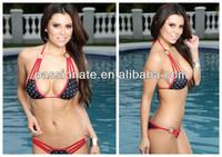 lady sexy transparent bikini photo english