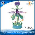Sıcak satış r/c uçan peri oyuncak çocuklar uçan zombi bebek oyuncak ışık ve müzik