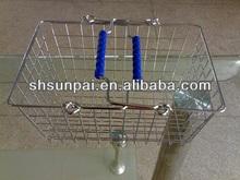 2014 chromed metal bread baskets