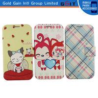 [GGIT] Fancy Designed Flip Case Wallet Case for Samsung S4 Print Flip Cover Case