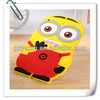 Smart cover minion case for ipad 2 3 4 for ipad protective case