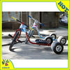 steel electric drift trike with inflatable rear wheel