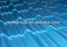 Sea Blue 0.5mm Thick 950mm wide PPGI roof sheet