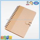 Custom Printed Cheap Spiral Notebook A4