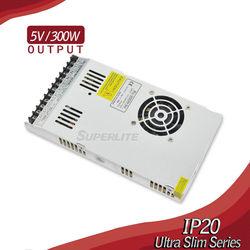 slim led power supply 12v, 5v 300w 60a slim switching power supply