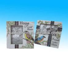 wholesale polyresin water bird price photo frame