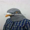 testa piena di gommain lattice di origine animale maschere piccione piccione costume costume partito gruppo