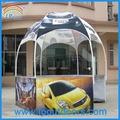 Hexagonal de stand de exposición/cúpula del quiosco/tienda de la bóveda de la pantalla