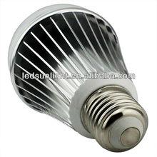 New style high brightness long lifespan 7w e27 base led light bulbs