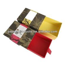 Paper slide packaging box