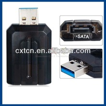 """USB 3.0 to eSATA external SATA 5Gbps Convertor Adapter for 2.5"""" 3.5"""" hard disk"""