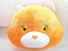 Plush animal shapes cushion/plush baby pillow