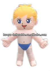 Inflatable Boy Cartoon Inflatable Human Model Nude Naked Cheap Simple Boys