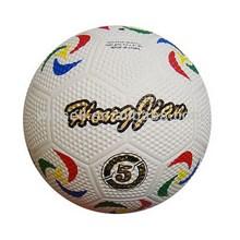 High quality popular golf rubber football soccer ball