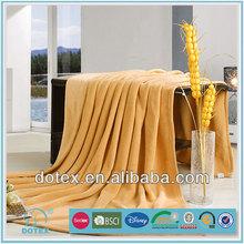 Anti stretch flame retardant machine washable home use cheap stock blanket