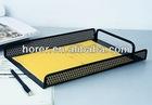 metal mesh desk file rack