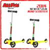 mini pocket bike scooter with 3 wheels mini kick scoooter