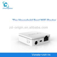 Factory price VONETS VAR11N RJ45 mini wifi router, wifi bridge