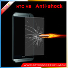 Improted PAC Material Shockproof Screen Protectors For HTC M8 Anti-scratch