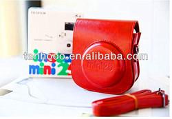 Cheap digital camera bag PU leather sloop camera bag manufacturer direct