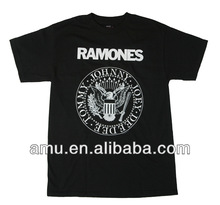Wholesale fashion cute custom Ramones lifestyle tshirt
