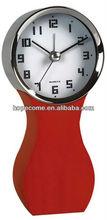 (W2611) hopecome decorative alarm wood electric kitchen clock