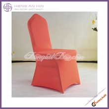 Fine dark orange spandex Chair Cover /Lycra Chair Cover for wedding,banquet,party