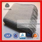 NO.1 China blanket factory Life comfortable ,plaid picnic, knee wool plaid