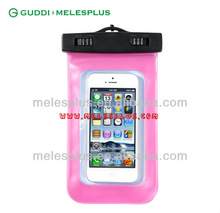 2014 new design clear pvc universal eco-friendly waterproof bag for mobile phone