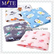 animal printed brush fabric / polar fleece made in keqiao