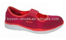 Zapatos de color brillante para las muchachas, Caliente la venta de colores payless shoes