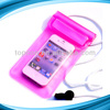 custom promotion pvc for iphone waterproof bag
