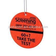 Best Logo Hanging Paper Car Air Freshener