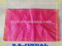 PP red mesh bag for onion cheap mesh bag