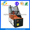 guangzhou coin operated Standard Basketball Machine arcade basketball