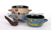 "Good quality antique 45"" stoneware material bowl"
