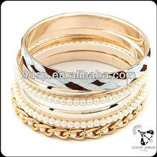 2014 Fashion jewelry bangle set with chinese handmade