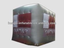 Cube Cubic Three-Dimensional Square Box Model Dice Inflatable Model Qutar Design
