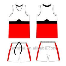 Cheap basketball tops and short set,Blank youth basketball uniform custom basketball uniforms china