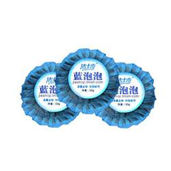 Blue-bubble WC toilet cleaner gel