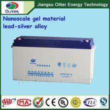 Wholesale price!12V 150AH gel deep cycle battery used in wind turbine