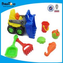 Mini bucket beach toy sand beach car toy for kids