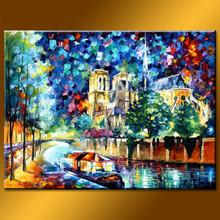 Wholesale Handmade Hotel Decor Landscape Canvas Picture