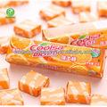 coolsa laranja sabor doce suave mastigável doces 10 pcs doces