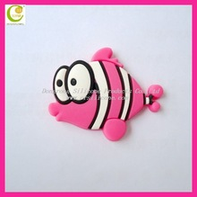 best price high quality eco-friendly silicone/pvc fridge magnets words in custom design