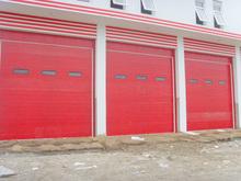 industrial fire rated sectional overhead door