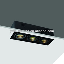 3*MR16 50W grille light fixture