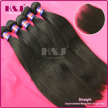 Top Sales H&J Virgin cheap and high quality 100 human hair extensions